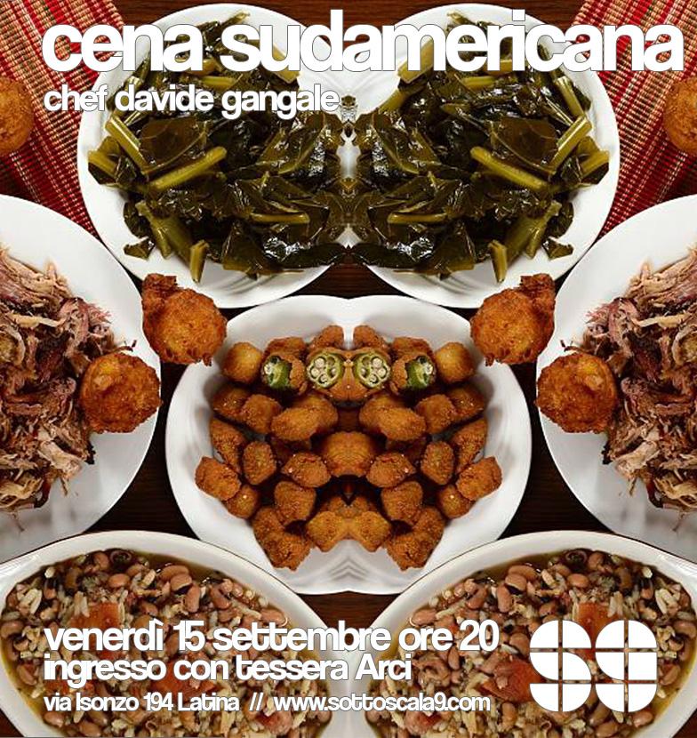 Cena Sudamericana Sottoscala9