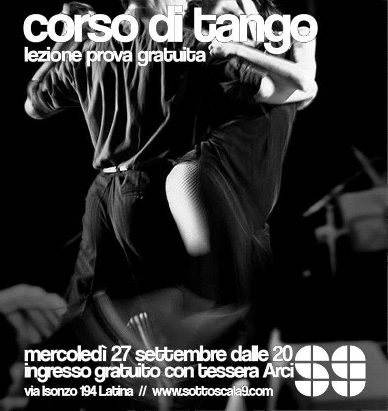 Lezione Prova Tango Argentino Sottoscala9